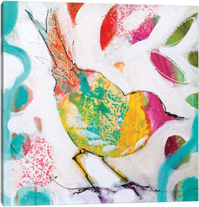 Petite Bird IV Canvas Art Print