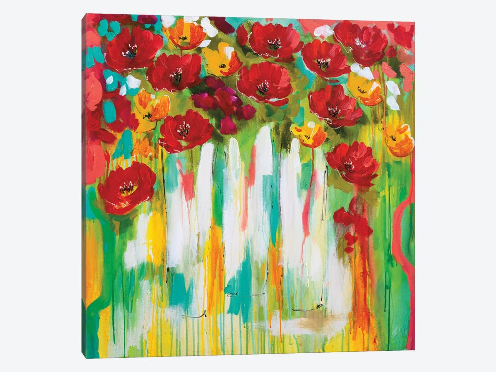 Poppies Glowing by Amanda J. Brooks 1-piece Art Print