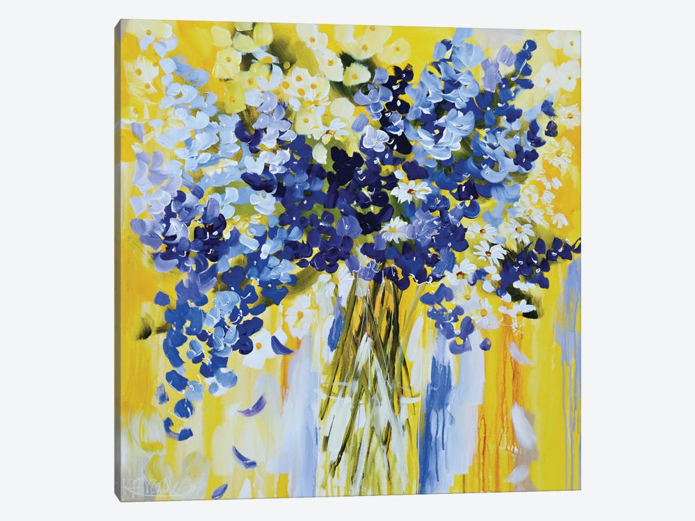Rise And Shine by Amanda J. Brooks 1-piece Canvas Art Print