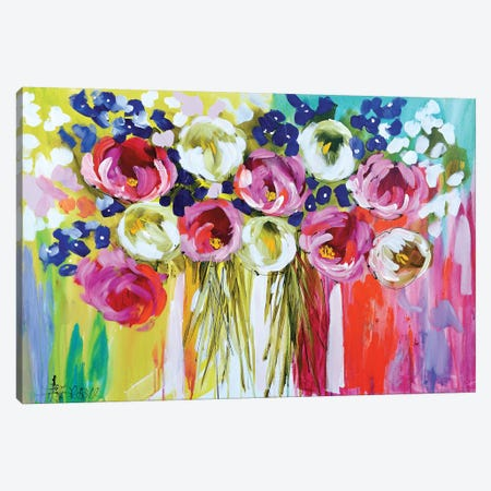 Summer Salsa 3-Piece Canvas #AJB15} by Amanda J. Brooks Art Print