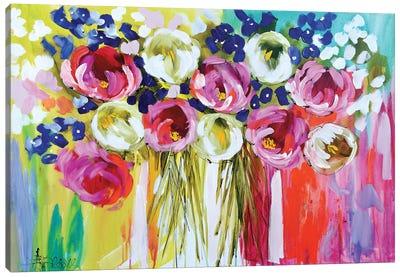Summer Salsa Canvas Art Print
