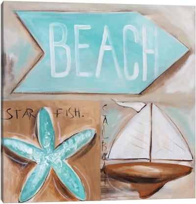 Where's The Beach? Canvas Art Print