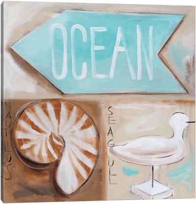 Where's The Ocean? Canvas Art Print