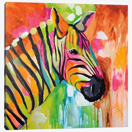Za Za 3-Piece Canvas #AJB29} by Amanda J. Brooks Canvas Print