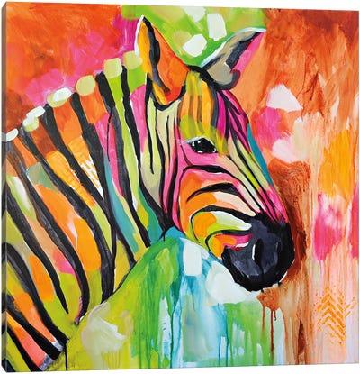 Za Za Canvas Art Print