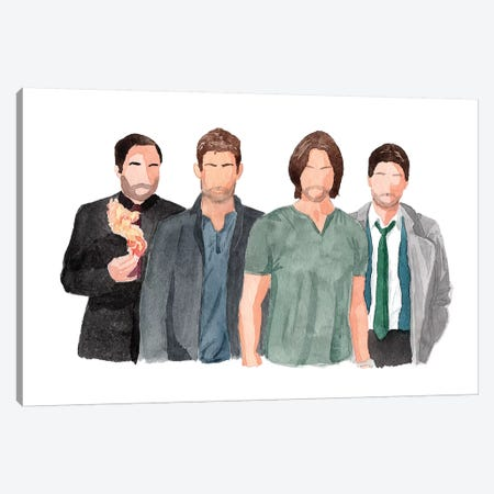 Supernatural 3-Piece Canvas #AJF11} by AJ Filopoulos Canvas Wall Art