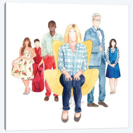 The Good Place Canvas Print #AJF12} by AJ Filopoulos Canvas Art