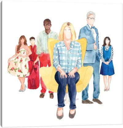 The Good Place Canvas Art Print