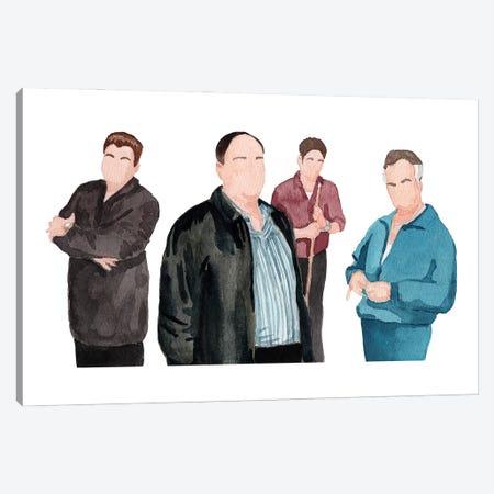 The Sopranos Canvas Print #AJF17} by AJ Filopoulos Canvas Print