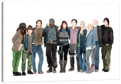 The Walking Dead - S3 Canvas Art Print