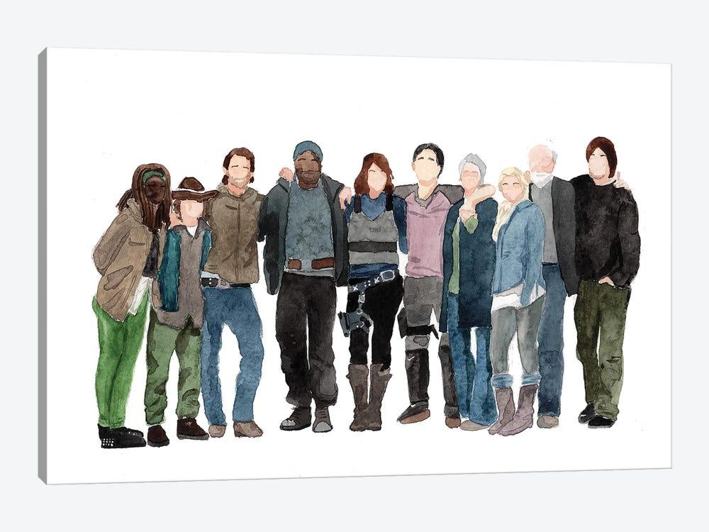 The Walking Dead - S3 by AJ Filopoulos 1-piece Art Print