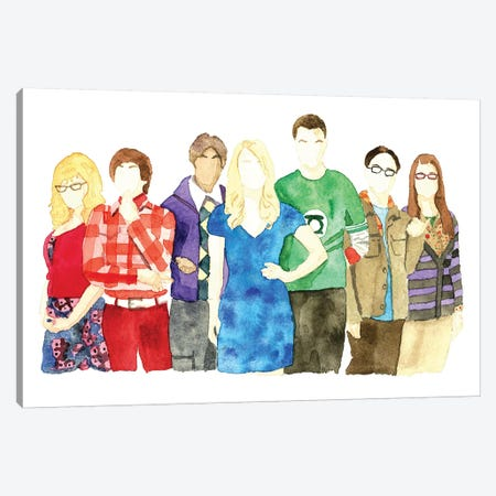 Big Bang Theory Canvas Print #AJF1} by AJ Filopoulos Canvas Wall Art