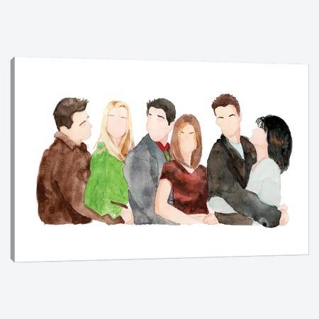Friends Canvas Print #AJF4} by AJ Filopoulos Canvas Art Print