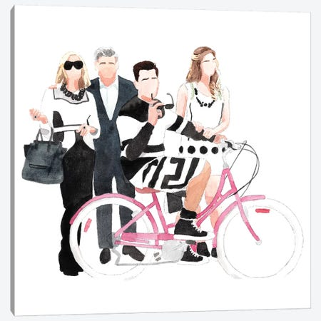Schitt's Creek Canvas Print #AJF8} by AJ Filopoulos Canvas Wall Art