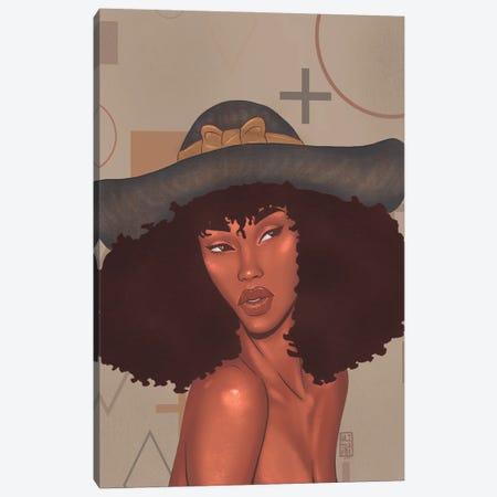 Daisy Canvas Print #AJH11} by Alijhae West Canvas Artwork