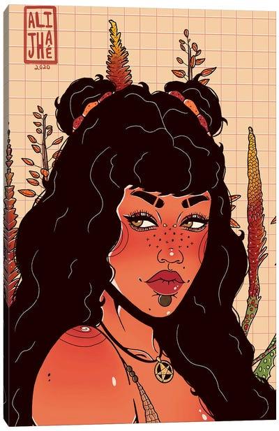 Red Desert Canvas Art Print