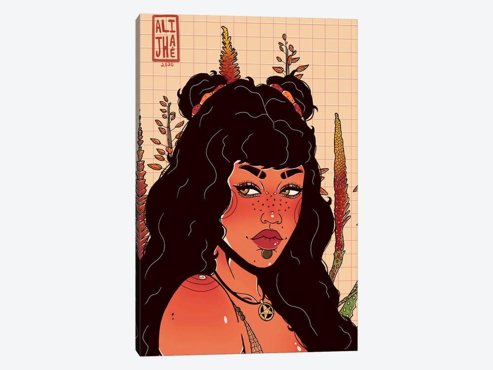 Red Desert by Alijhae West 1-piece Canvas Art Print