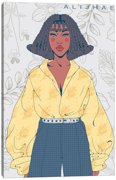 Yellow Professional Canvas Art Print