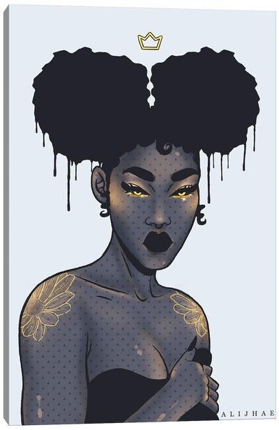 Black Power Canvas Art Print