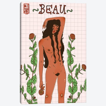 Beau Canvas Print #AJH4} by Alijhae West Canvas Print