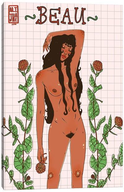Beau Canvas Art Print