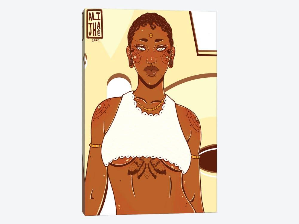 Brown Sugar by Alijhae West 1-piece Art Print