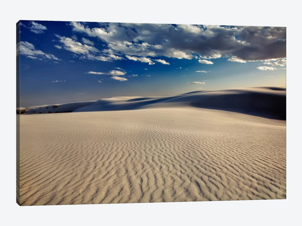 Rippled Dunes, White Sands National Monument, Tularosa Basin, New Mexico, USA by Adam Jones 1-piece Canvas Artwork