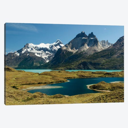 Largo Nordenskjold, Torres del Paine National Park, Chile, Patagonia, Patagonia Canvas Print #AJO67} by Adam Jones Art Print