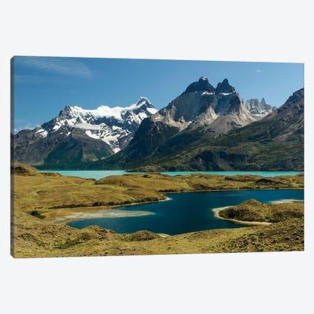 Largo Nordenskjold, Torres del Paine National Park, Chile, Patagonia, Patagonia Canvas Print #AJO67} by Adam Jones Art Print