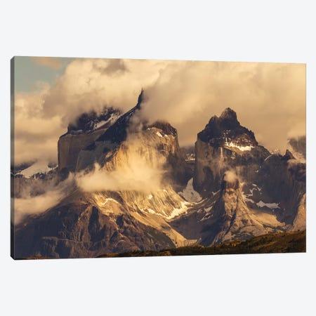 Paine Massif, Torres del Paine National Park, Chile, Patagonia Canvas Print #AJO72} by Adam Jones Art Print