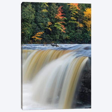 Tahquamenon Falls, Tahquamenon Falls State Park, Whitefish, Michigan II Canvas Print #AJO84} by Adam Jones Canvas Art Print