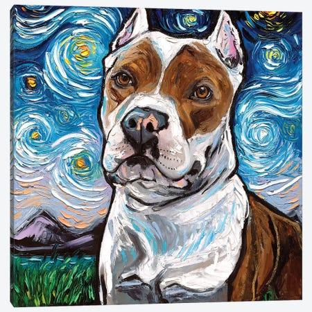 Pitbull Night II Canvas Print #AJT110} by Aja Trier Canvas Art Print