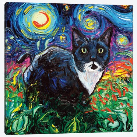 Lucy Canvas Print #AJT118} by Aja Trier Canvas Art Print