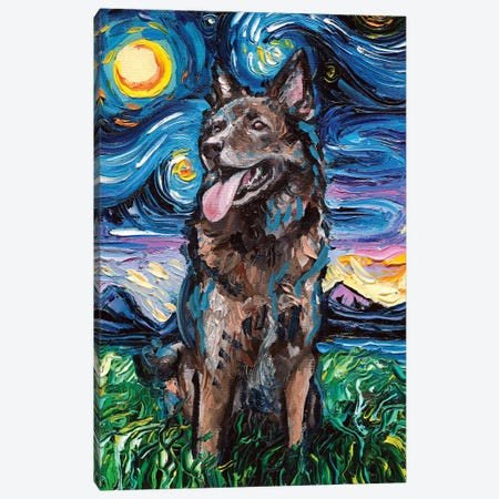 Shepherd Night Canvas Print #AJT147} by Aja Trier Canvas Print