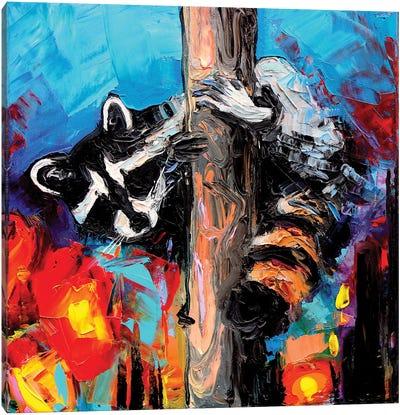 Night Watchman Canvas Art Print