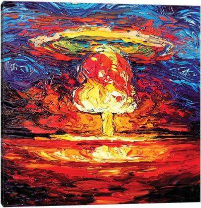 Van Gogh Never Saw Bikini Atoll Canvas Art Print