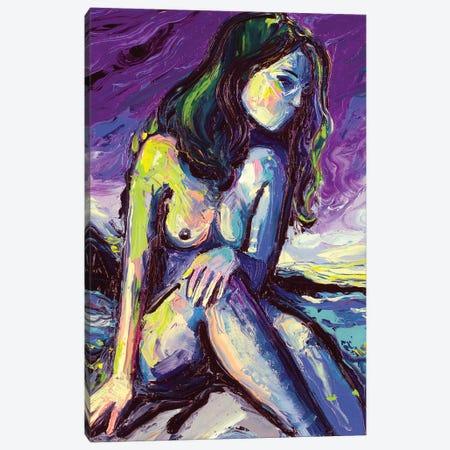 Water's Edge Canvas Print #AJT156} by Aja Trier Canvas Artwork