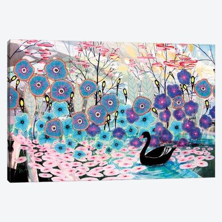 The Black Swan Canvas Print #AJT158} by Aja Trier Canvas Print