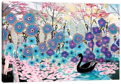 The Black Swan Canvas Art Print