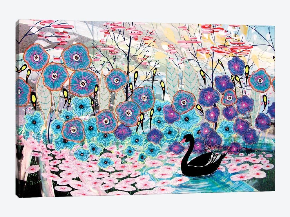 The Black Swan by Aja Trier 1-piece Art Print