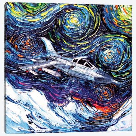 The Mission Canvas Print #AJT159} by Aja Trier Canvas Art Print