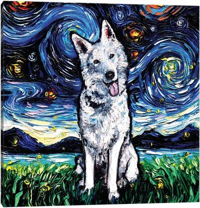 Swiss Shepherd Night Canvas Art Print