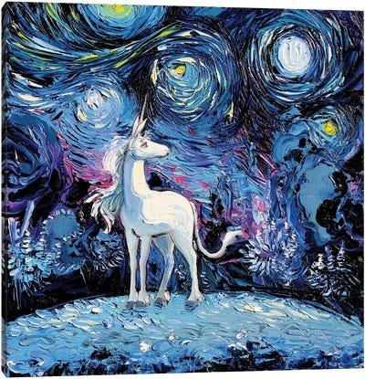 Van Gogh Never Saw The Last Canvas Art Print