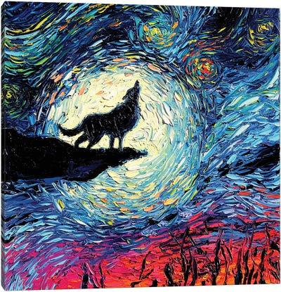 Van Gogh Never Howled At The Moon Canvas Art Print