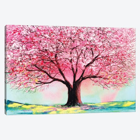 Story Of The Tree LXIV 3-Piece Canvas #AJT212} by Aja Trier Canvas Art