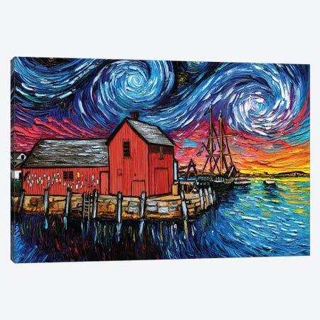 Motif I Night Canvas Print #AJT214} by Aja Trier Art Print