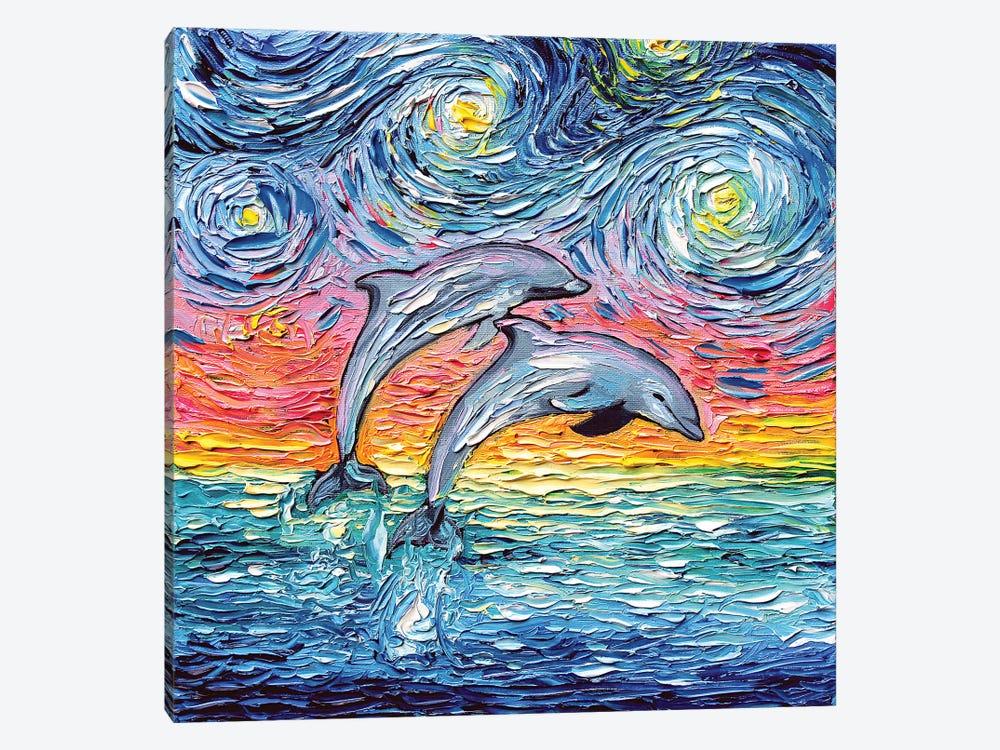 Van Gogh Never Saw Paradise by Aja Trier 1-piece Art Print