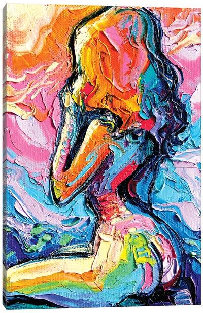 Femme 410 Canvas Art Print