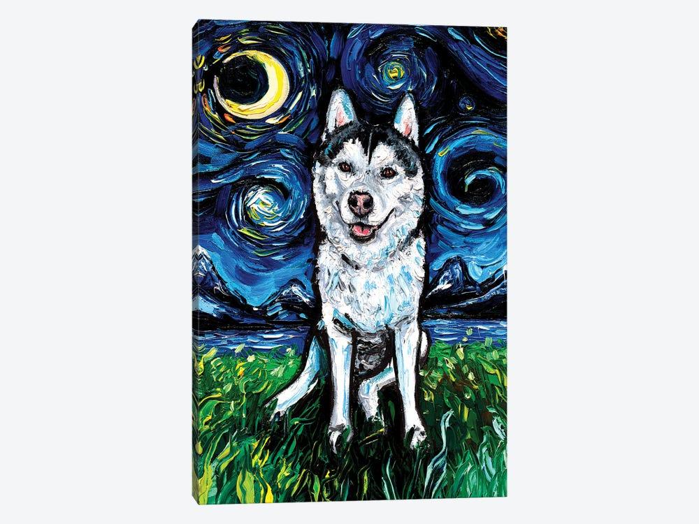 Husky Night II by Aja Trier 1-piece Art Print