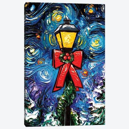 Season'S Greetings Canvas Print #AJT287} by Aja Trier Canvas Wall Art